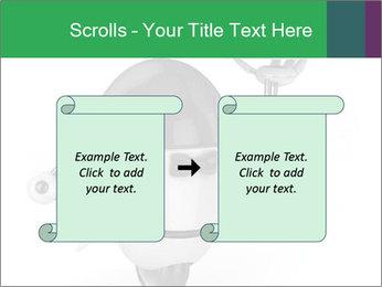 3D Robot Waiter PowerPoint Template - Slide 74
