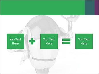 3D Robot Waiter PowerPoint Template - Slide 95