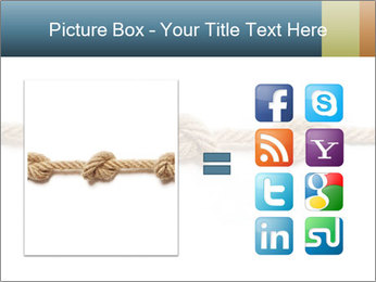 Three Knots PowerPoint Template - Slide 21