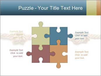 Three Knots PowerPoint Template - Slide 43