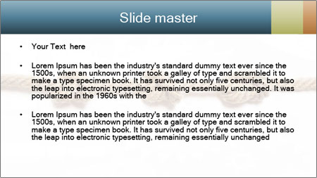 Three Knots PowerPoint Template - Slide 2