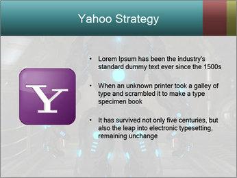 Dangerous Android Robot PowerPoint Templates - Slide 11