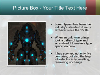 Dangerous Android Robot PowerPoint Templates - Slide 13