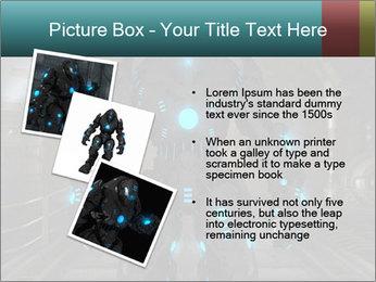 Dangerous Android Robot PowerPoint Templates - Slide 17