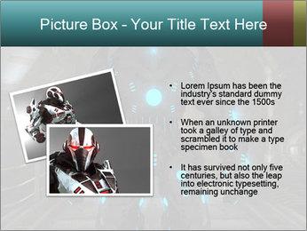 Dangerous Android Robot PowerPoint Templates - Slide 20