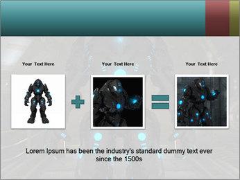 Dangerous Android Robot PowerPoint Templates - Slide 22