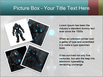 Dangerous Android Robot PowerPoint Templates - Slide 23