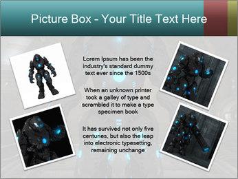 Dangerous Android Robot PowerPoint Templates - Slide 24