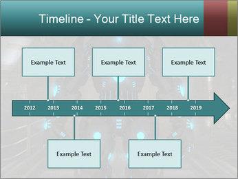 Dangerous Android Robot PowerPoint Templates - Slide 28