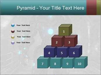 Dangerous Android Robot PowerPoint Templates - Slide 31