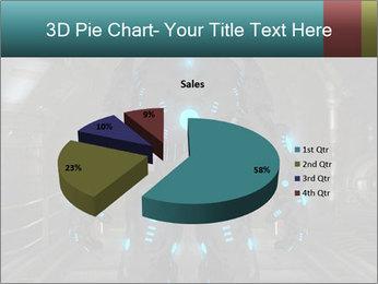 Dangerous Android Robot PowerPoint Templates - Slide 35