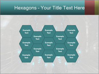 Dangerous Android Robot PowerPoint Templates - Slide 44