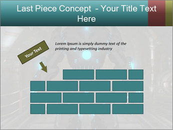 Dangerous Android Robot PowerPoint Templates - Slide 46