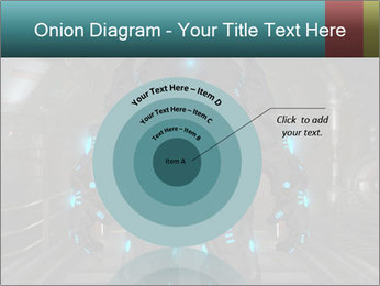 Dangerous Android Robot PowerPoint Templates - Slide 61