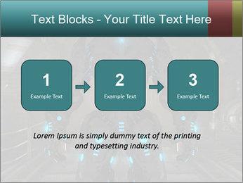 Dangerous Android Robot PowerPoint Templates - Slide 71