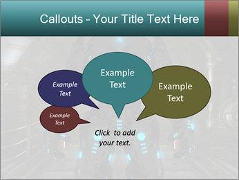 Dangerous Android Robot PowerPoint Templates - Slide 73