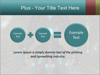Dangerous Android Robot PowerPoint Templates - Slide 75