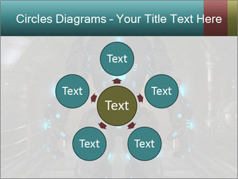 Dangerous Android Robot PowerPoint Templates - Slide 78