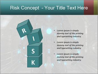 Dangerous Android Robot PowerPoint Templates - Slide 81