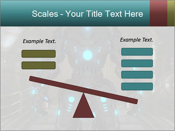Dangerous Android Robot PowerPoint Templates - Slide 89