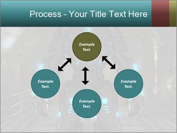 Dangerous Android Robot PowerPoint Templates - Slide 91