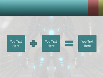 Dangerous Android Robot PowerPoint Templates - Slide 95