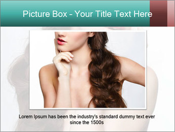 Hairstyle Super Model PowerPoint Templates - Slide 15