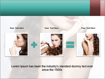 Hairstyle Super Model PowerPoint Templates - Slide 22