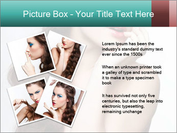 Hairstyle Super Model PowerPoint Templates - Slide 23