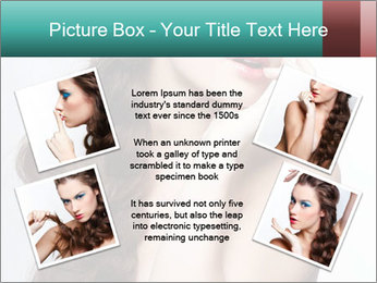Hairstyle Super Model PowerPoint Templates - Slide 24