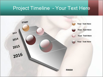 Hairstyle Super Model PowerPoint Templates - Slide 26