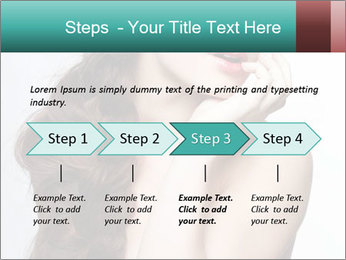 Hairstyle Super Model PowerPoint Templates - Slide 4