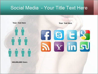 Hairstyle Super Model PowerPoint Templates - Slide 5