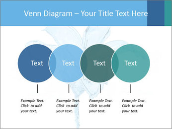 Blue Water Flower PowerPoint Templates - Slide 32