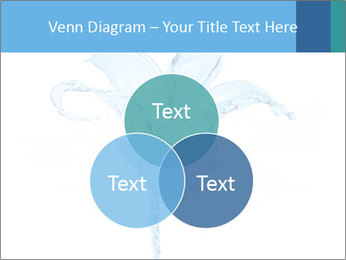 Blue Water Flower PowerPoint Templates - Slide 33