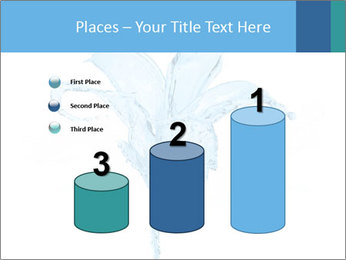 Blue Water Flower PowerPoint Templates - Slide 65