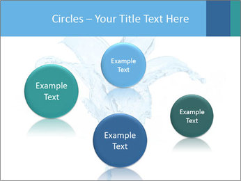 Blue Water Flower PowerPoint Templates - Slide 77