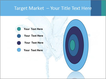 Blue Water Flower PowerPoint Templates - Slide 84