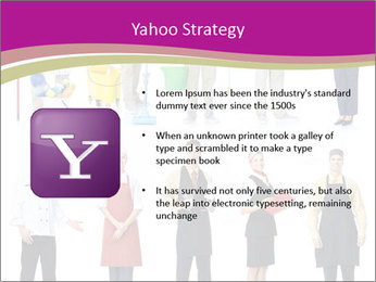 Team of Cleaners PowerPoint Templates - Slide 11