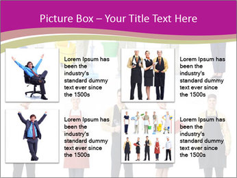 Team of Cleaners PowerPoint Template - Slide 14