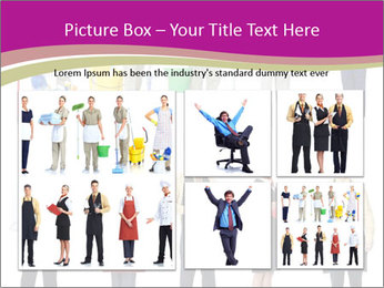 Team of Cleaners PowerPoint Template - Slide 19