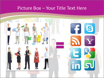 Team of Cleaners PowerPoint Template - Slide 21