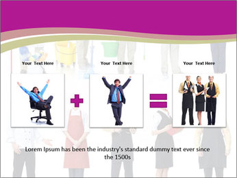 Team of Cleaners PowerPoint Template - Slide 22