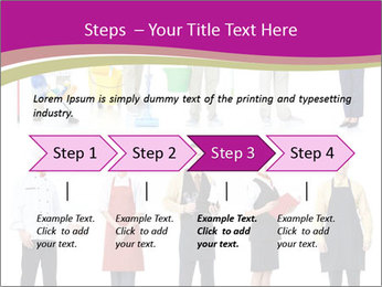 Team of Cleaners PowerPoint Templates - Slide 4