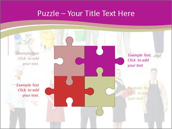 Team of Cleaners PowerPoint Templates - Slide 43