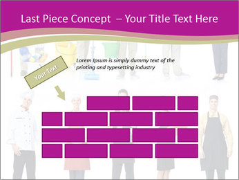Team of Cleaners PowerPoint Templates - Slide 46