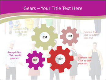 Team of Cleaners PowerPoint Templates - Slide 47