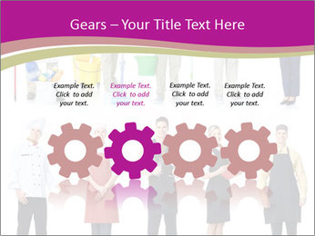 Team of Cleaners PowerPoint Template - Slide 48