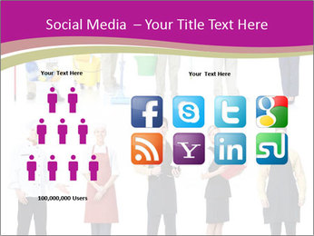 Team of Cleaners PowerPoint Templates - Slide 5