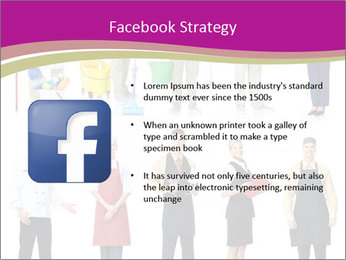Team of Cleaners PowerPoint Templates - Slide 6